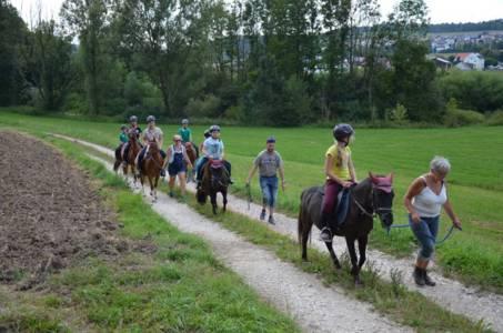 Kids-Zeltlager Der PSG Auf Dem Haflinger Hof In Landershofen (10)