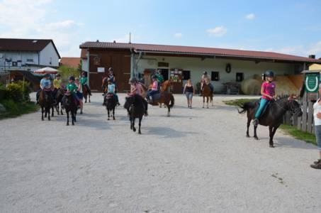 Kids-Zeltlager Der PSG Auf Dem Haflinger Hof In Landershofen (1)