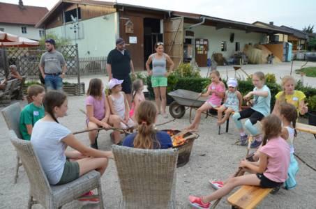 Kids-Zeltlager Der PSG Auf Dem Haflinger Hof In Landershofen (20)