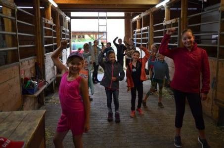 Kids-Zeltlager Der PSG Auf Dem Haflinger Hof In Landershofen (27)