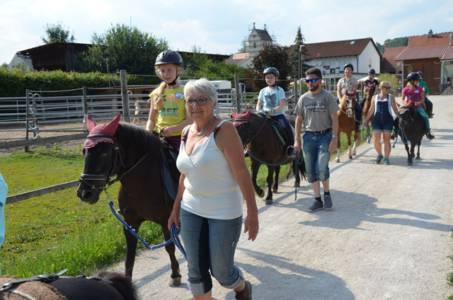 Kids-Zeltlager Der PSG Auf Dem Haflinger Hof In Landershofen (3)