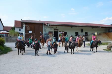Kids-Zeltlager Der PSG Auf Dem Haflinger Hof In Landershofen (43)