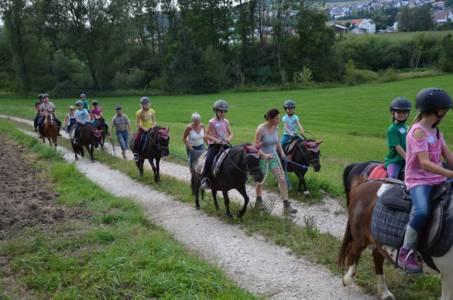 Kids-Zeltlager Der PSG Auf Dem Haflinger Hof In Landershofen (8)