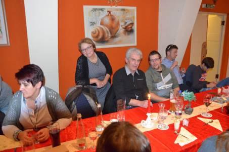 Weihnachtsfeier Am 1.2.2017 In Der Pizzeria Da Noi (11)