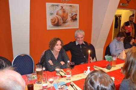 Weihnachtsfeier Am 1.2.2017 In Der Pizzeria Da Noi (2)