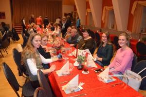 Weihnachtsfeier am 1.2.2017 in der Pizzeria Da Noi (10)